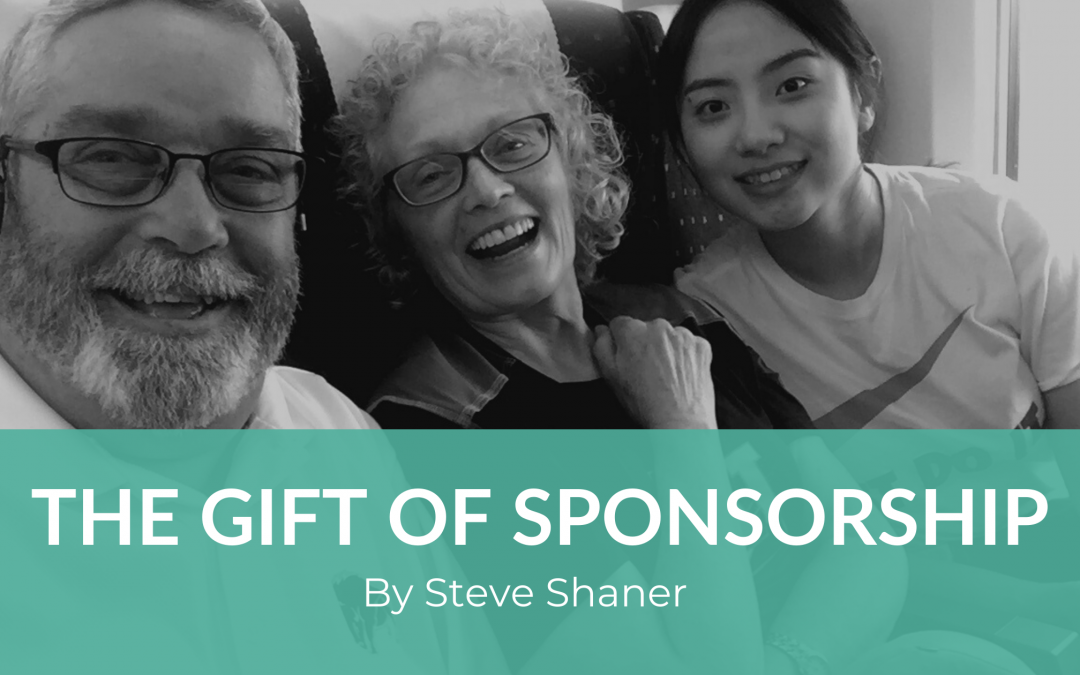 The Gift of Sponsorship: by Steve Shaner