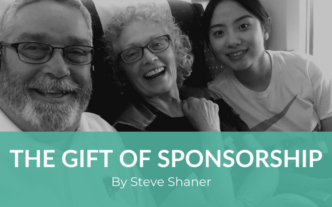 The Gift of Sponsorship