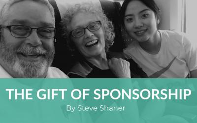 The Gift of Sponsorship: by Steve Shaner